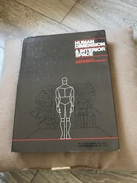 Human Dimension and Interior Space book Mississauga, L4T 2P7
