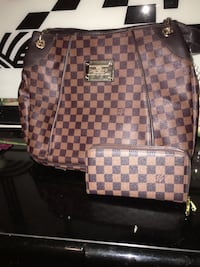 Used damier ebene Louis Vuitton leather backpack for sale in ... 5711fb53b93c9