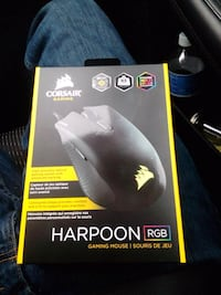 Unopened corsair harpoon rgb gaming mouse Chester, 10918
