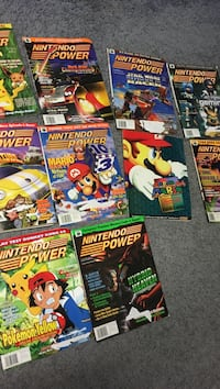 "Nintendo power magazines 9 total year ""1998"" with Mario kart 64 game guide Suffern, 10952"