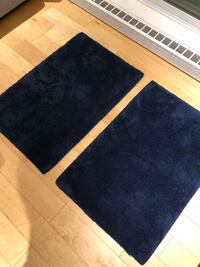 Blue bathroom rugs Montréal, H4A 2B2