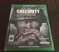 Call of Duty Advanced Warfare Xbox One game case Maple Heights, 44137