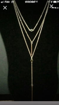Chandelier Necklace's (Gold & Silver) Vaughan, L6A 3P3