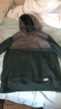 black and gray zip-up hoodie Kitchener, N2P 0B3