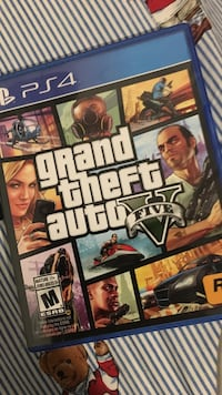 Grand theft auto five ps4 game North Vancouver, V7R 2X9