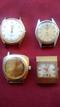 collectable vinatge Swiss watches automatic, manual