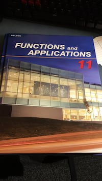 Functions and Applications Grade 11 TextBook Mississauga