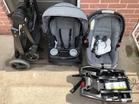 Graco Stroller, car seat and base Mississauga, L4X