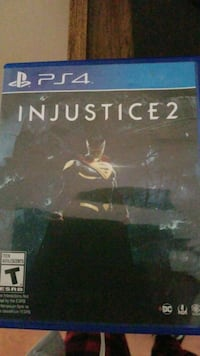 Injustice 2 PS4 game case 536 km
