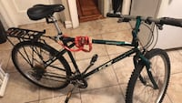 Black and red hard tail mountain bike New York, 11207