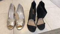 2 pairs of party shoes  Whitchurch-Stouffville, L4A 1Y4