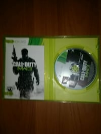 Xbox 360 Call of Duty MW3 game disc with case Squamish, V8B 0R6