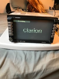 Clarion  2-din car stereo head unit Gaithersburg, 20879