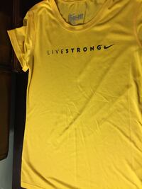 Yellow nike livestrong shirt New Dundee, N0B