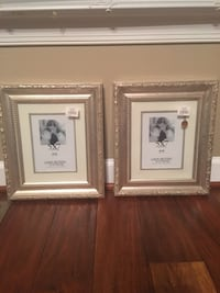 Two 8x10 wall photo frames (5x7 opening) Fairfax Station, 22039
