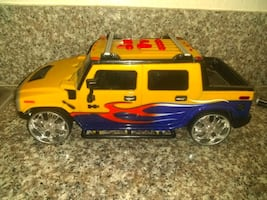 Toy Hummer truck