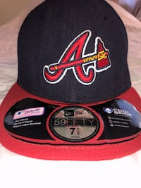 Atlanta Braves Fitted Cap , 97078