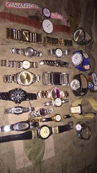 assorted color analog watch lot Langley, V3A 1M8