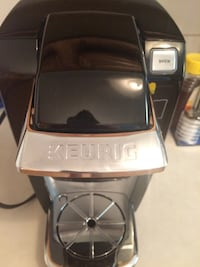 Keurig mini K-15 brewer. Rarely used and works perfectly.  Don't have a need for it in my new office. Retails for 80!  Burke, 22015