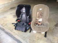 baby's gray and black car seat carrier Bethesda, 20817
