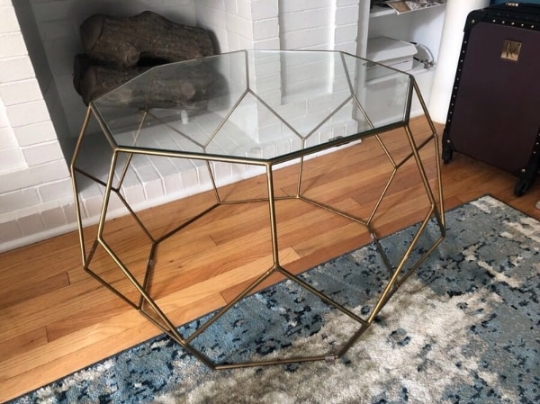 Used West Elm Sleek Modern Coffee Table For Sale In Chicago Letgo