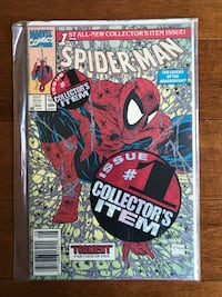 MARVEL SPIDER-MAN ISSUE 1 SEALED Pickering, L1W