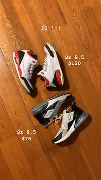 Jordan 3 Fire Red / Nike Air Max 270 Dusty Cactus Mississauga, L5V 0A6