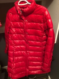 Duck down filled coat almost new small/medium Calgary, T2X 0M7