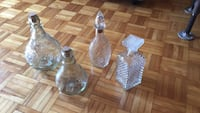 Decorative decanters Mississauga, L5A 1B4