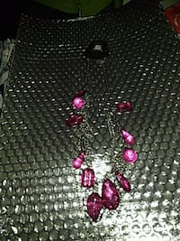 black and pink beaded necklace Suitland-Silver Hill, 20746