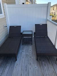Wicker Patio Lounge Chairs (2) and Patio Table Upper Marlboro, 20772