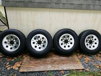 Tires and wheels Bolivar, 25425