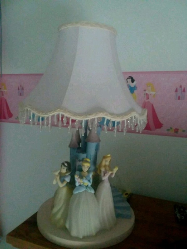 Disney princess lamp