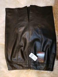 Dannier real leather skirt size 8