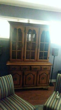 brown wooden china cabinet screenshot Temple, 76501