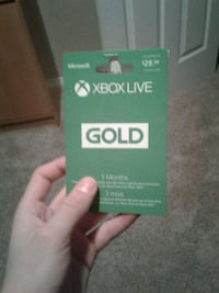 3 Month Xbox Live - Negotiable Calgary, T2Y 4W8
