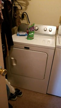 white front-load clothes dryer Asheboro, 27203