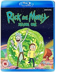 Rick and Morty DVD'S Woodstock, N4S 6Z2
