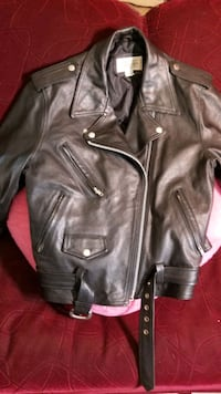 Leather Jacket Ladies Large