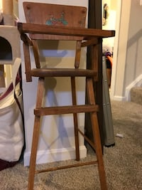 Vintage doll high chair Chantilly, 20152