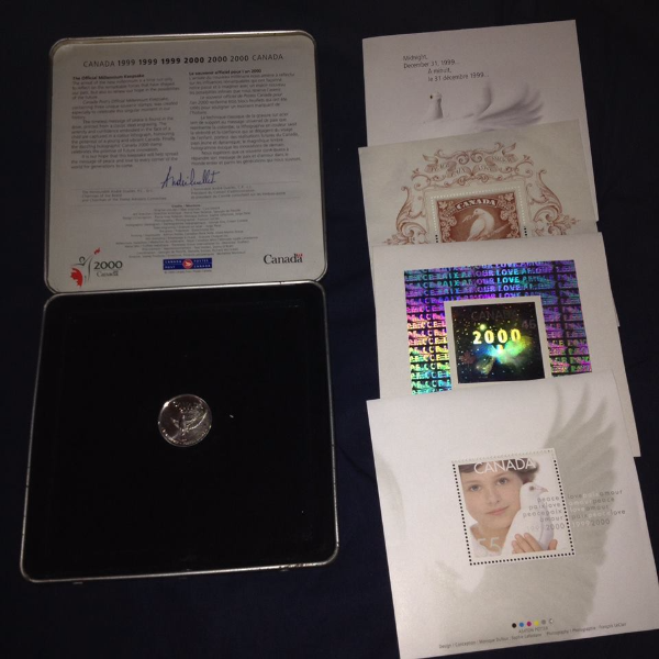 gift for collector - Collection Canada Mint Official Millennium Keepsake Mississauga, ON, Canada