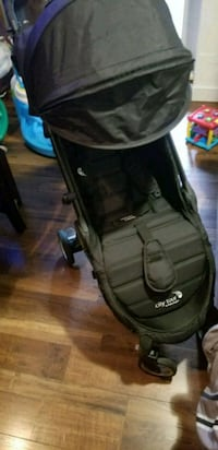 black and gray jogging stroller Toronto