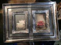 silver collage photo frame Langley