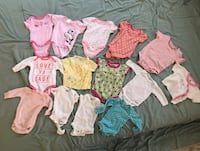 14 pieces 0-3 months baby clothes Ashburn, 20147