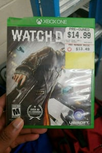 Xbox One Watch Dogs game case Silver Spring, 20903