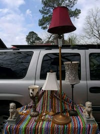 ASSORTED LAMPS.