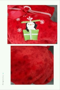 BNWT Christmas Baby Plush Blanket