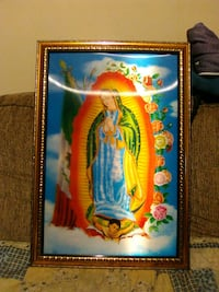 Mother Mary two pics in one Hedgesville
