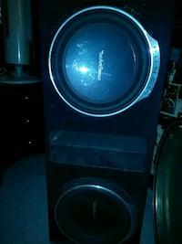 Rockford Fosgate 12inch punch speakers in box