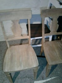 Pier one wood chairs Bethlehem, 18018